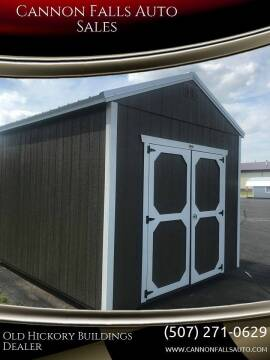 2020 Old Hickory Buildings Utility Shed 10x12 for sale at Cannon Falls Auto Sales in Cannon Falls MN