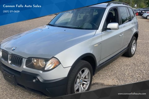 2004 BMW X3 for sale at Cannon Falls Auto Sales in Cannon Falls MN
