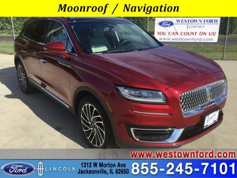 2019 Lincoln Nautilus for sale in Jacksonville, IL