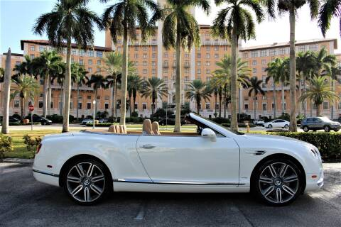 2016 Bentley Continental for sale in Miami, FL