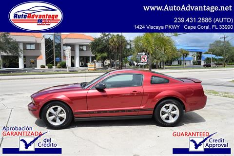 2007 Ford Mustang for sale in Cape Coral, FL