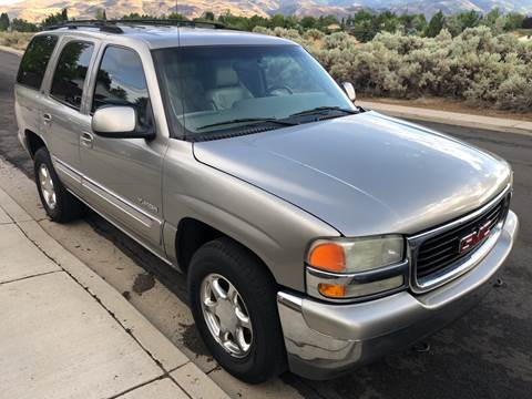 2002 GMC Yukon for sale at City Auto Sales in Sparks NV