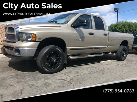 2003 Dodge Ram Pickup 2500 for sale at City Auto Sales in Sparks NV