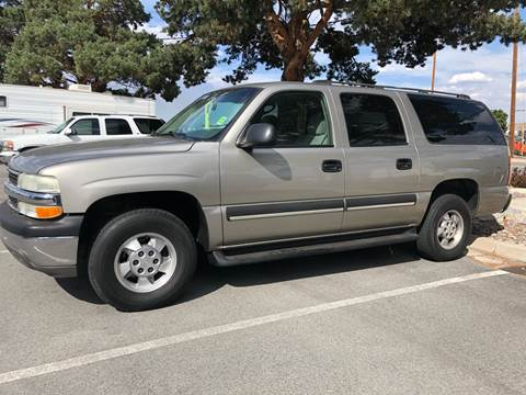 2003 Chevrolet Suburban for sale at City Auto Sales in Sparks NV