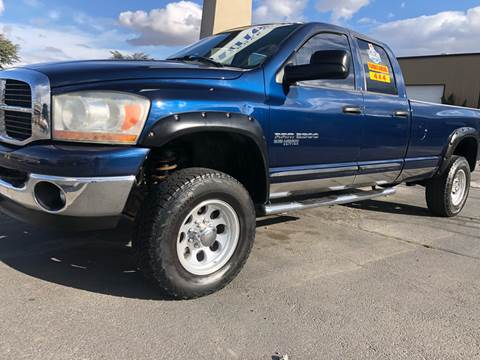 2006 Dodge Ram Pickup 2500 for sale at City Auto Sales in Sparks NV
