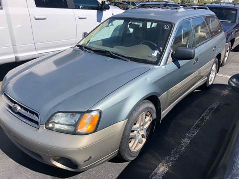 2002 Subaru Outback for sale at City Auto Sales in Sparks NV