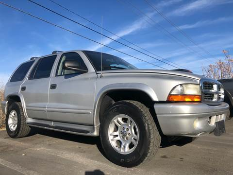 2002 Dodge Durango for sale at City Auto Sales in Sparks NV