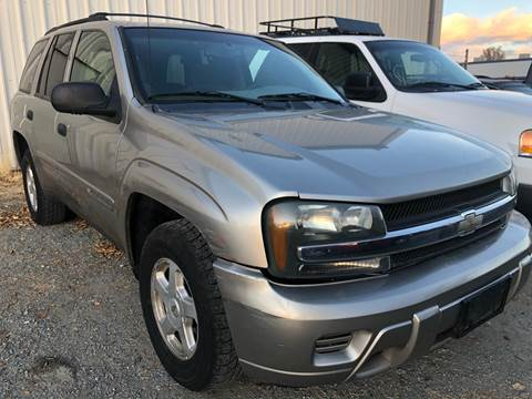 2002 Chevrolet TrailBlazer for sale at City Auto Sales in Sparks NV