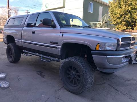 2001 Dodge Ram Pickup 2500 for sale at City Auto Sales in Sparks NV