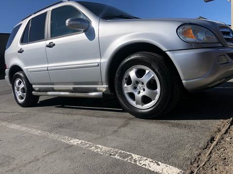 2004 Mercedes-Benz M-Class for sale at City Auto Sales in Sparks NV