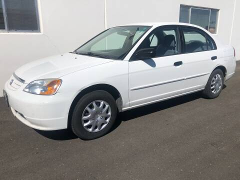 2001 Honda Civic for sale at City Auto Sales in Sparks NV