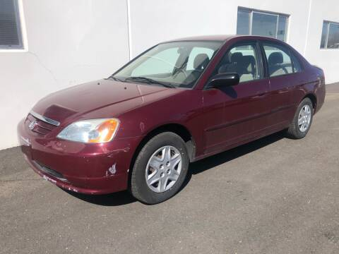 2003 Honda Civic for sale at City Auto Sales in Sparks NV