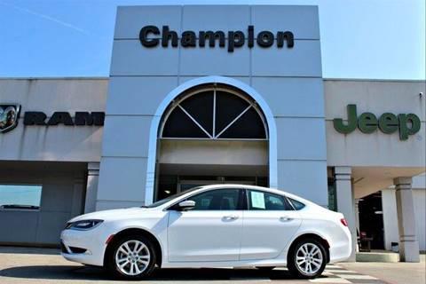 2017 Chrysler 200 for sale in Decatur, AL