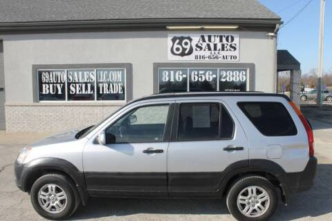 2002 Honda CR-V EX for sale at 69 Auto Sales LLC in Excelsior Springs MO