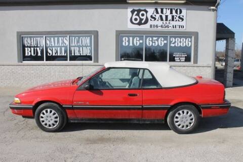 1991 Pontiac Sunbird LE for sale at 69 Auto Sales LLC in Excelsior Springs MO