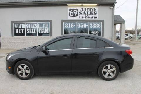 2013 Chevrolet Cruze 1LT Auto for sale at 69 Auto Sales LLC in Excelsior Springs MO