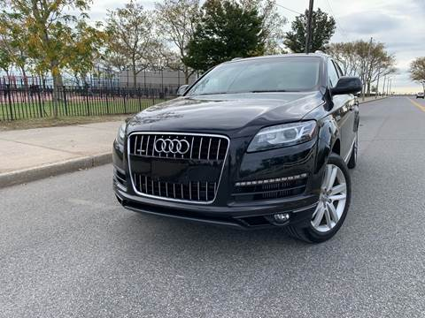 2012 Audi Q7 for sale at Ultimate Motors in Port Monmouth NJ