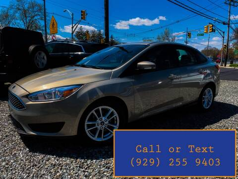 2016 Ford Focus for sale at Ultimate Motors in Port Monmouth NJ