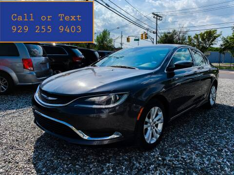2015 Chrysler 200 for sale at Ultimate Motors in Port Monmouth NJ