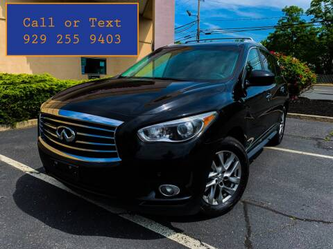 2013 Infiniti JX35 for sale at Ultimate Motors in Port Monmouth NJ