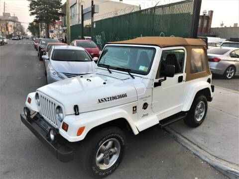 1997 Jeep Wrangler for sale at Ultimate Motors in Port Monmouth NJ