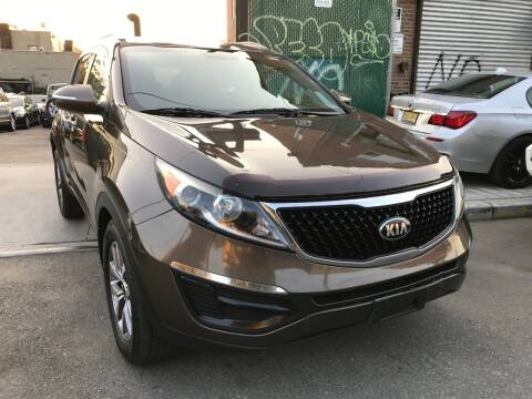 2015 Kia Sportage for sale at Ultimate Motors in Port Monmouth NJ