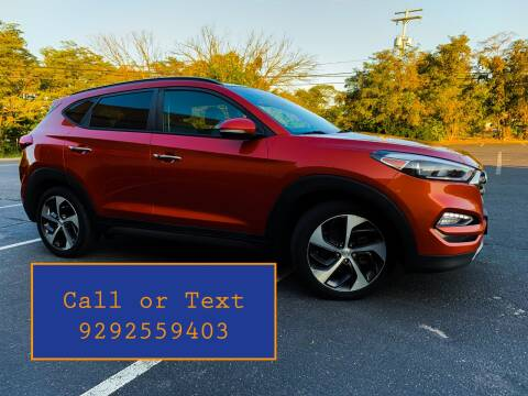2016 Hyundai Tucson for sale at Ultimate Motors in Port Monmouth NJ