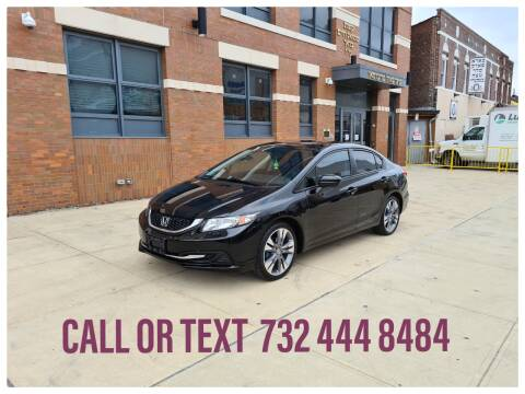 2015 Honda Civic for sale at Ultimate Motors in Port Monmouth NJ