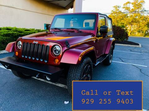 2008 Jeep Wrangler for sale at Ultimate Motors in Port Monmouth NJ