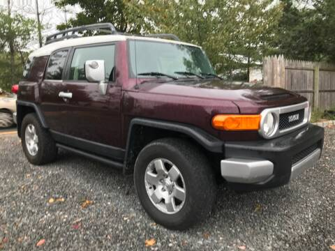 2007 Toyota FJ Cruiser for sale at Ultimate Motors in Port Monmouth NJ