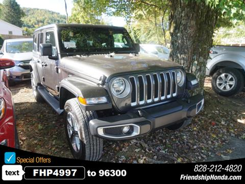 2019 Jeep Wrangler Unlimited for sale in Boone, NC