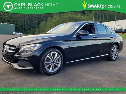2018 Mercedes-Benz C-Class for sale in Hiram, GA