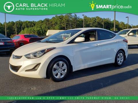 2016 Hyundai Elantra for sale in Hiram, GA