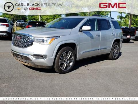 2019 GMC Acadia for sale in Kennesaw, GA