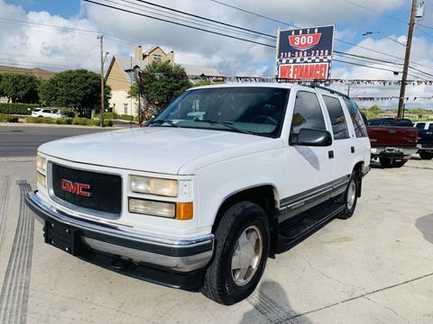 1999 GMC Yukon for sale in San Antonio, TX