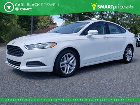 2013 Ford Fusion for sale in Roswell, GA