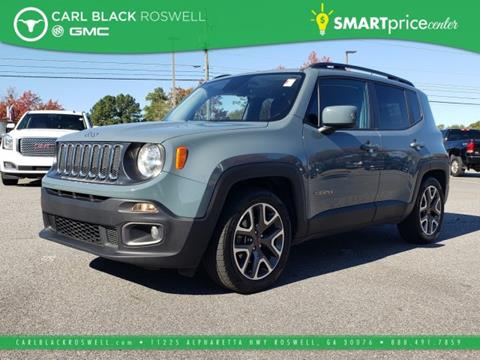 2017 Jeep Renegade for sale in Roswell, GA