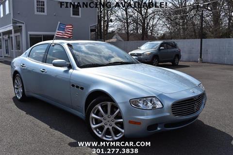 2005 Maserati Quattroporte for sale at Mr. Car LLC in Brentwood MD