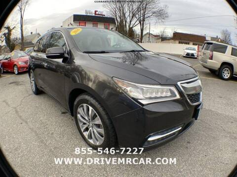 2016 Acura MDX for sale at Mr. Car LLC in Brentwood MD