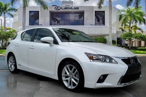 2016 Lexus CT 200h for sale in Pinecrest, FL