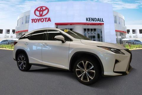 2017 Lexus RX 350 for sale in Miami, FL
