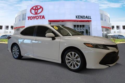 2018 Toyota Camry for sale in Miami, FL