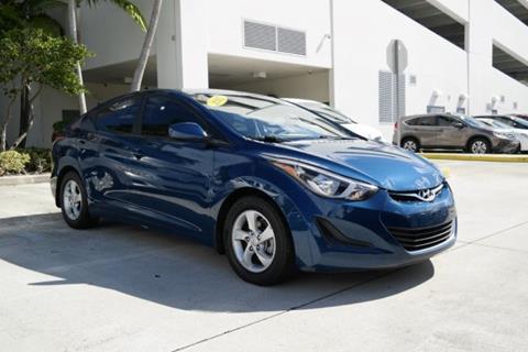 2015 Hyundai Elantra for sale in Miami, FL