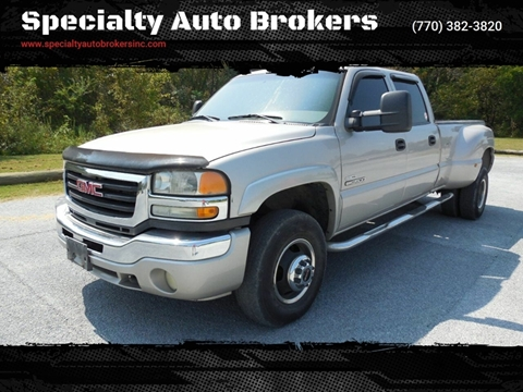 2006 GMC Sierra 3500 for sale in Cartersville, GA