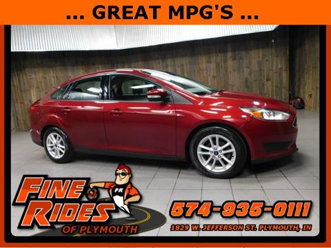2016 Ford Focus for sale in Plymouth, IN