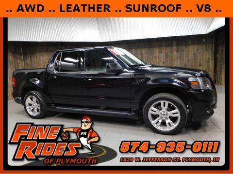 2010 Ford Explorer Sport Trac for sale in Plymouth, IN