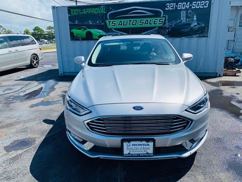 Ford Fusion Hybrid For Sale >> Ford Fusion Hybrid For Sale In Orlando Fl Ts Auto Sales