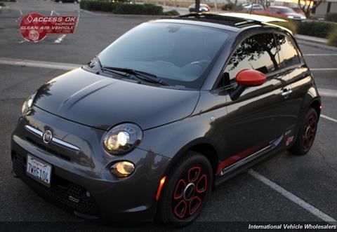 2017 FIAT 500e for sale in Rialto, CA