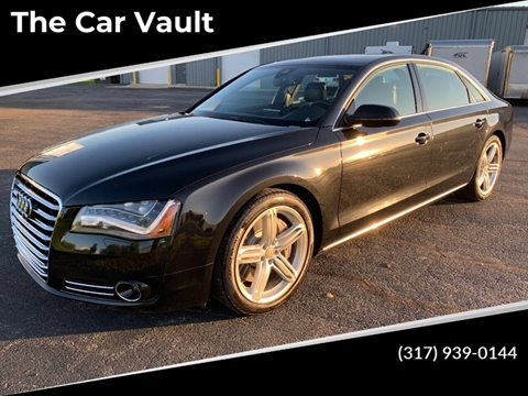 2013 Audi A8 L 4.0T quattro for sale at The Car Vault in Brownsburg IN