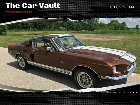 1968 Ford Mustang for sale at The Car Vault in Brownsburg IN